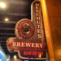 Photo taken at Deschutes Brewery Bend Public House by David V. on 2/16/2013