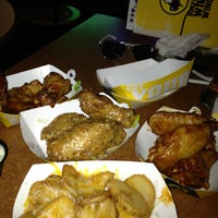 Photo taken at Buffalo Wild Wings by Jamie on 5/8/2013