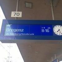 Photo taken at Bahnhof Tullnerfeld by Maximilian H. on 6/3/2015
