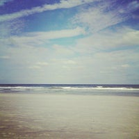 Photo taken at Jax Beach At South 15th Ave by Clinton H. on 10/20/2013