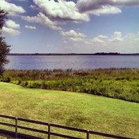 Photo taken at Lake Kerr by Clinton H. on 9/8/2013