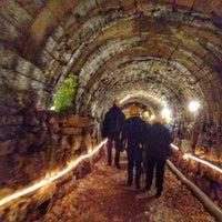 Photo taken at Grotta di Ornavasso by Andrea C. on 12/23/2015