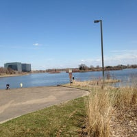 Photo taken at Normandale Lake Park by Danielle B. on 4/27/2013