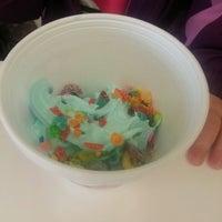 Photo taken at Sweet Frog Premium Frozen Yogurt by Briana K. on 3/25/2014