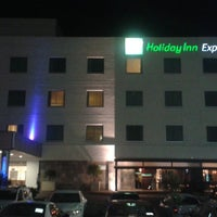 Photo taken at Holiday Inn Express Hotel & Suites by Ariel A. on 7/24/2013