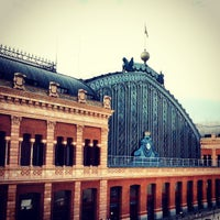 Photo taken at Madrid-Puerta de Atocha Railway Station by Tiago R. on 5/8/2013