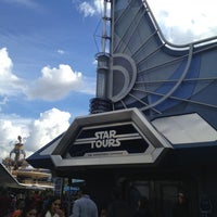 Photo taken at Star Tours - The Adventures Continue by Manny A. on 12/14/2012