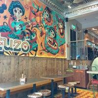 Photo taken at Tuzo Mexican Kitchen by Yunfei R. on 8/21/2014