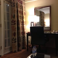 Photo taken at DoubleTree Suites by Hilton Hotel Omaha by Meredith R. on 7/23/2013