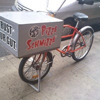 Photo taken at Pizza Schmizza by James C. on 10/12/2012