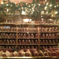 Photo taken at Gallaghers Steakhouse by Claudia C. on 12/8/2012