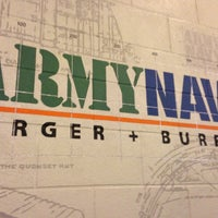 Photo taken at Army Navy Burger + Burrito by Tony M. on 2/17/2013