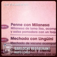 Photo taken at Bariloche Restaurant by Carlos A. on 4/27/2013