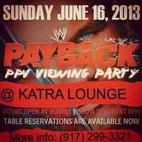 Photo prise au Katra Lounge par Sonny S. le6/16/2013