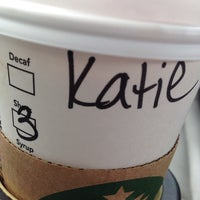 Photo taken at Starbucks by Katie E. on 10/5/2013