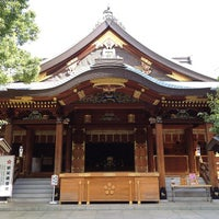 Photo taken at Yushima Tenmangu Shrine by 淳 佐. on 9/17/2012