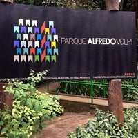 Photo taken at Parque Alfredo Volpi by Paula Z. on 8/17/2013