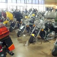 Photo taken at Black Hills Harley-Davidson by Beth G. on 12/15/2012