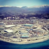 Снимок сделан в Олимпийский парк пользователем 👣Roman F. 3/30/2013