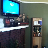 Photo taken at Dapper & Company Mens Grooming Lounge by cheryl c. on 10/1/2013