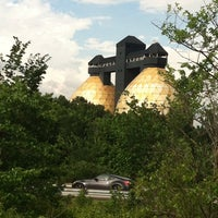 Photo taken at Back River Anaerobic Digesters (aka Golden Eggs) by cheryl c. on 6/28/2013