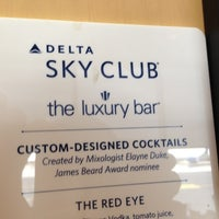 Photo taken at Delta Sky Club by jon a. on 4/22/2013