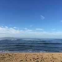 Photo taken at Ukumehame Beach by Namhee C. on 9/13/2016