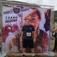 Photo taken at The Dirty Dash by Jesse H. on 9/14/2013