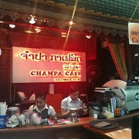 Photo taken at champa cafe by Michael V. on 10/22/2014