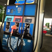 Photo taken at Esso by Pattana B. on 3/17/2013