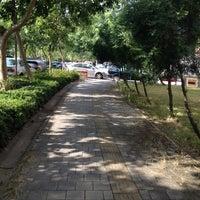 Photo taken at Asia University by Li H. on 10/14/2013