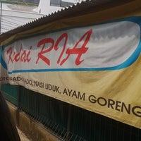 Photo taken at Kedai Ria by Edwin S. on 6/6/2014