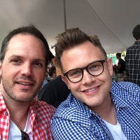 Photo taken at Oktoberfest In Central Park by Brian M. on 9/20/2014