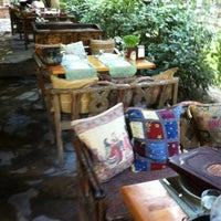 Photo taken at Düven Kule Restaurant by Serra I. on 7/8/2013