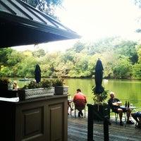 Photo taken at The Loeb Boathouse by Jeremy D. on 9/22/2012