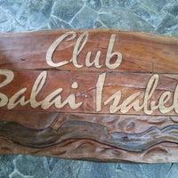 Photo taken at Club Balai Isabel by Edwin R. on 2/13/2013