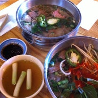 Photo taken at Pho Doan (Vietnamese Noodle & Grill) by Linn W. on 1/2/2014
