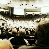 Photo taken at Community of Christ Auditorium by Natalie B. on 4/18/2013