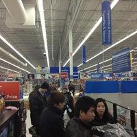 Photo taken at Walmart Supercenter by Leslie K. on 3/21/2013
