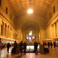 Photo taken at Union Station (YBZ) by TaraxLee X. on 11/19/2012