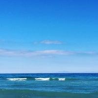 Photo taken at Poseidon Palace-Beach Bar by Dominik H. on 10/8/2016