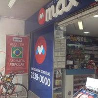 Photo taken at Drogarias Max by João L. on 11/23/2015