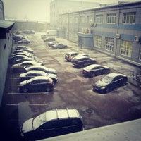 Photo taken at Бизнес парк ШТЕРН Эстейт (второе здание) by Evgeniya D. on 10/26/2012