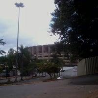 Photo taken at Estádio Jornalista Felipe Drummond (Mineirinho) by Bruno M. on 3/23/2013