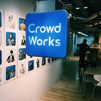 Photo taken at CrowdWorks, Inc. by Go on 6/22/2015