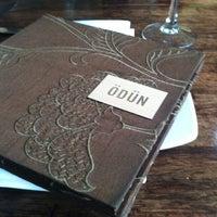 Photo taken at Ödün Restaurante Condesa by brisa r. on 5/20/2013