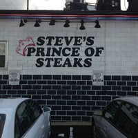 Photo taken at Steve's Prince of Steaks by John M. on 8/9/2013