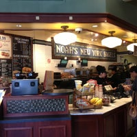 Photo taken at Noah's Bagels by William B. on 4/11/2013