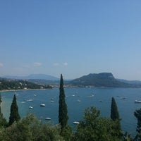 Photo taken at Lungolago di Bardolino by Elisa C. on 7/21/2013