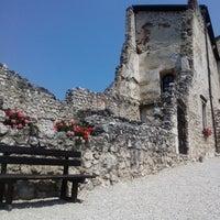 Photo taken at Castel Beseno by Antonio R. on 7/21/2013